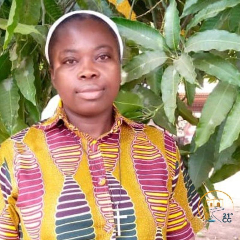 Province d'Afrique Centrale: Sr Pauline BIBAKÈ